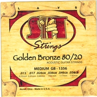S.I.T. Acoustic Golden Bronze Medium Strings