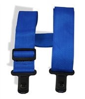 "Sure Lock 2"" guitar strap blue"