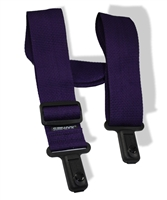 "Sure Lock 2"" guitar strap purple"