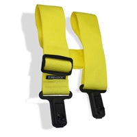 "Sure Lock 2"" guitar strap yellow"