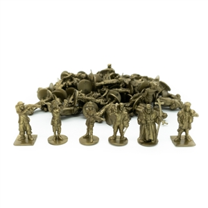 Empires: Age of Discovery - Ottoman Player Board and Gold Figures