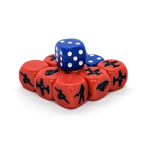 ATTACK! Set of Dice