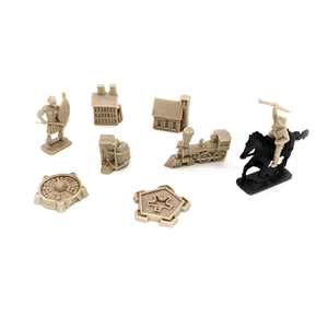 War! Age of Imperialism: Miniatures - Natives and Buildings