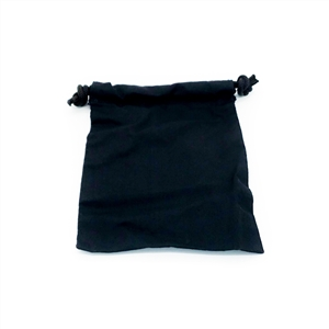 Black Cloth Dice Bag