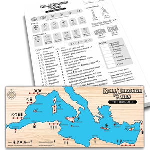 Roll through the Ages: The Iron Age - Mediterranean Expansion + Extra Score Pad