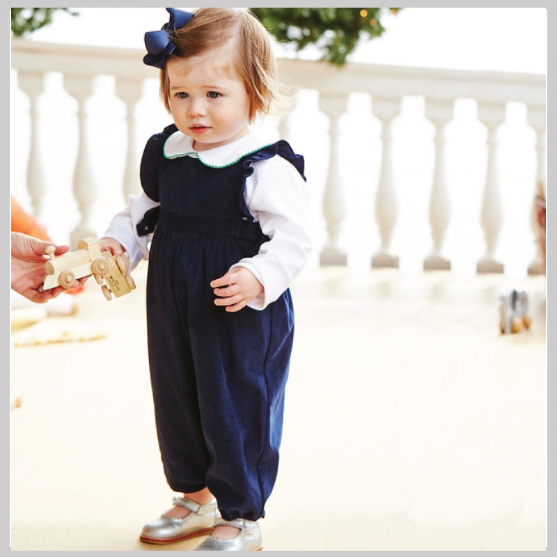 79f3c5510 Bella Bliss Berkley Corduroy Overalls Navy