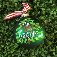 Christmas Ornament - First Christmas
