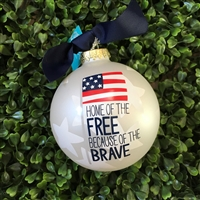 Christmas Ornament - Patriotism