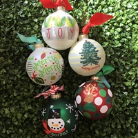 Christmas Ornaments - Merry & Jolly
