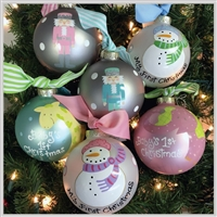 Christmas Ornaments - New Baby