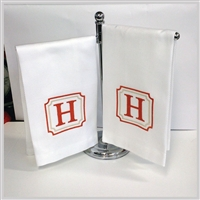 Pique Guest Towels - Set of 2