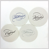 Caligraphy Coasters