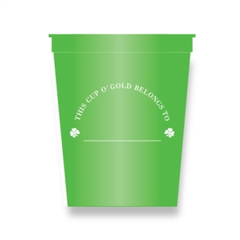 Shamrock Party Cups