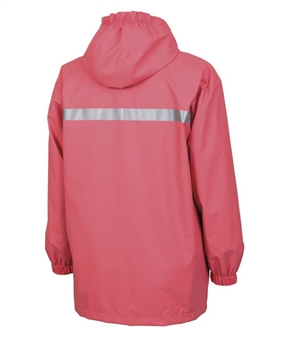 YOUTH New Englander Rain Jacket Coral