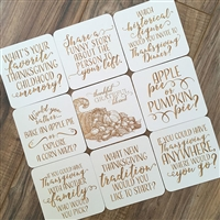 Thanksgiving Conversation Coasters