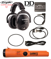 Garrett Z-Lynk MS-3 Wireless Headphone Kit At The Digger Den