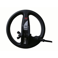 Minelab 8″ FBS Pro DD Coil at The Diggers Den for E-trac, Safari, Explorer and Quattro detectors.