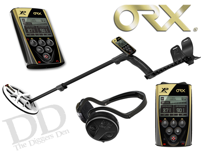 The NEW XP ORX Wireless Detector with 9.5 Elliptical HF Coil At The Diggers Den