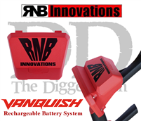 RNB  PLUS LITHIUM RECHARGEABLE BATT PACK for Minelab Vanquish at The Diggers Den