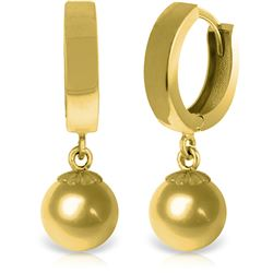 ALARRI 14K Solid Gold Balldrop Dangling Earrings