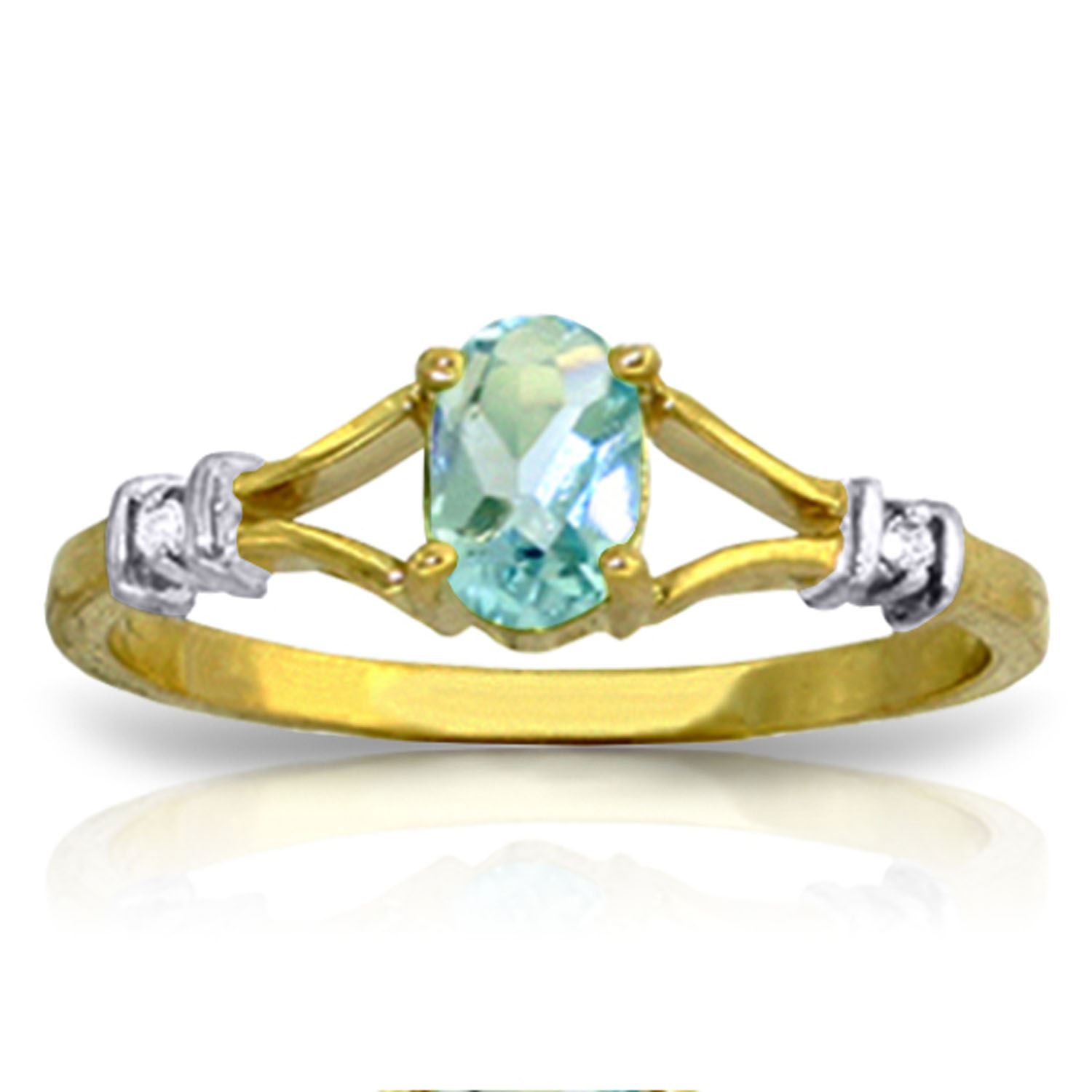 d jones ernest white diamond and blue topaz number product ring webstore gold
