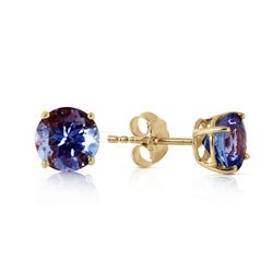 ALARRI 0.95 Carat 14K Solid Gold Joy In Your Eyes Tanzanite Earrings