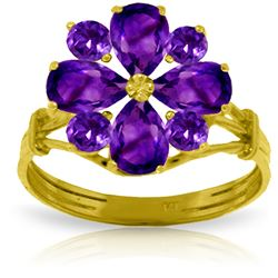 ALARRI 2.43 CTW 14K Solid Gold What Lies Ahead Amethyst Ring
