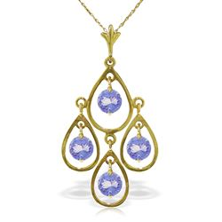 ALARRI 1.2 Carat 14K Solid Gold Unending Song Tanzanite Necklace