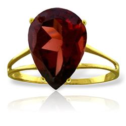 ALARRI 5 CTW 14K Solid Gold Nearly Not Bare Garnet Ring