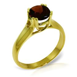 ALARRI 1.1 Carat 14K Solid Gold Grand Cadence Garnet Ring