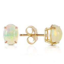 ALARRI 0.9 Carat 14K Solid Gold Pina Colada Opal Earrings