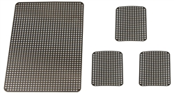 Small Ti‐Mesh: 18x25x0.1mm (Pack of 3)