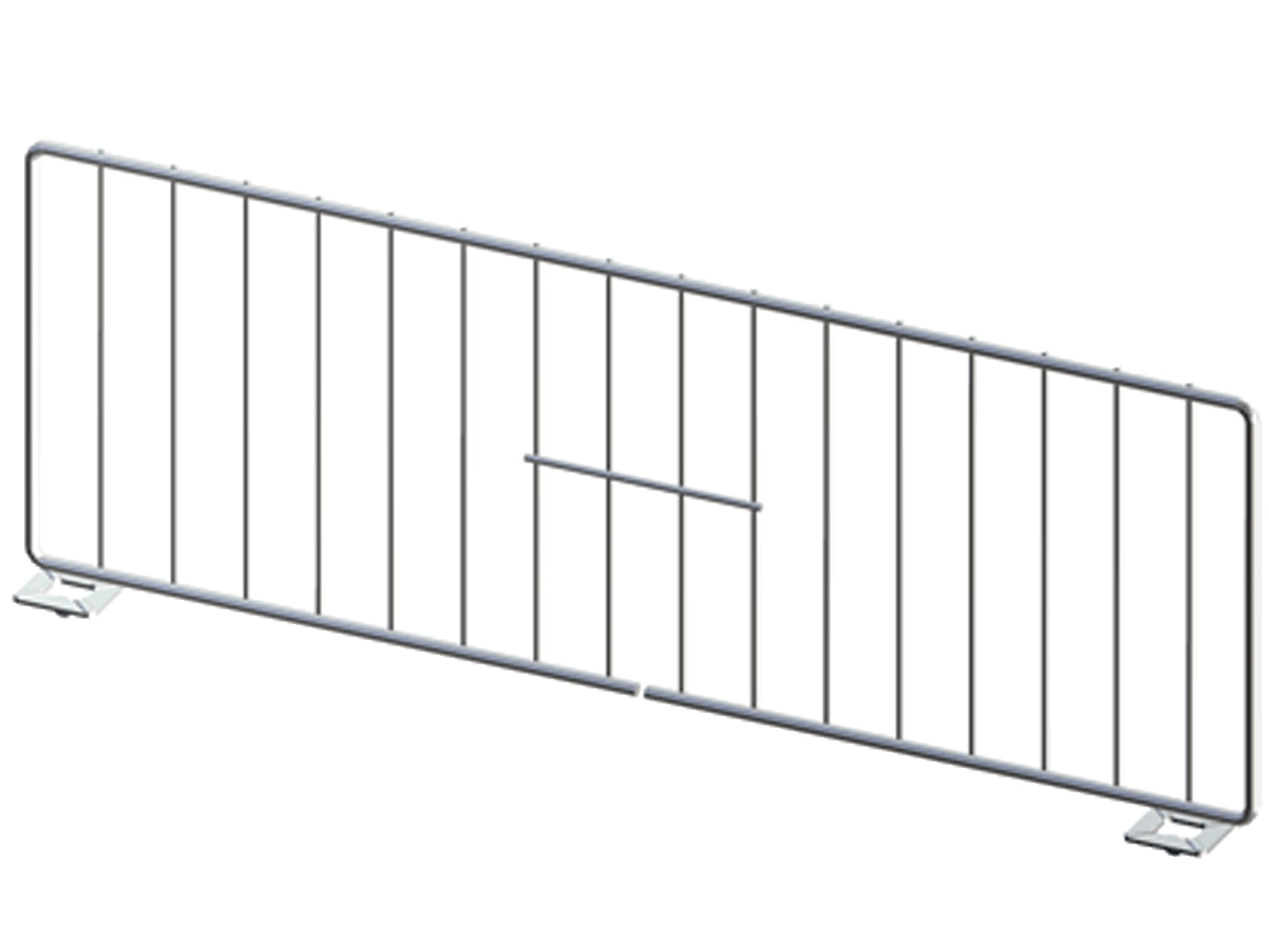 Wire shelf divider, freestanding, lozier, madix, streater, upright ...