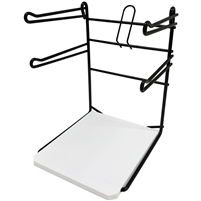 wire bag rack