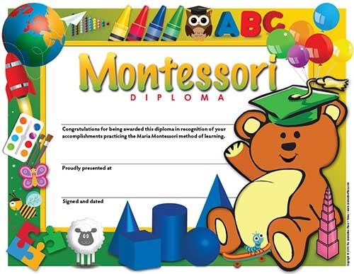 Diploma Montessori