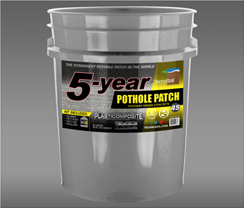 5-Year Pothole Patch: Highway Grade Concrete 45lb