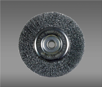 "Weiler Crimped 4"" Wire Wheel"