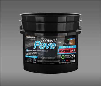 TrowelPave Speed Set Asphalt 25lb Bucket Kit