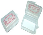 CLEAR EARPLUG CASE