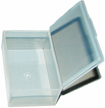 LARGE CLEAR EARPLUG CASE