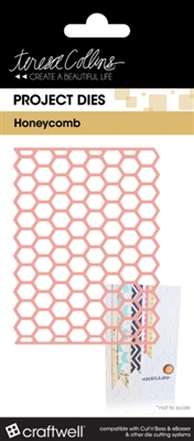 Teresa Collins Honeycomb Pocket Die