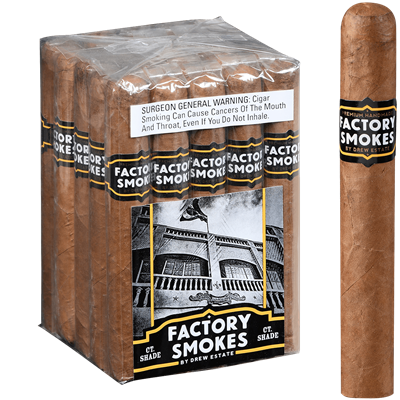 DREW ESTATE FACTORY SMOKES SHADE CHURCHILL
