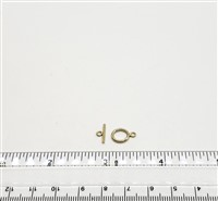Gold Filled Clasp - Toggle 9mm