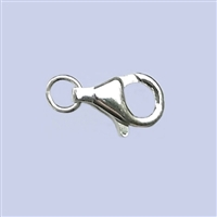 Sterling Silver Oval Lobster - #2 6x11mm w/ring