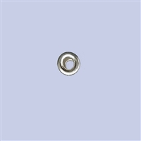 Sterling Silver Roundel Beads - 4mm