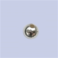 Sterling Silver Round Beads - Seamless 6mm