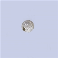 Sterling Silver Stardust Beads - 5mm