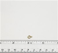 Gold Filled Clasp - Spring 6mm Open ring