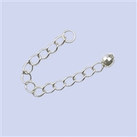 Sterling Silver Extension - Ball Drop