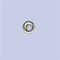Sterling Silver Roundel Beads - 5mm